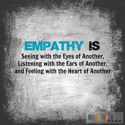 Empathy is seeing with the eyes of another.