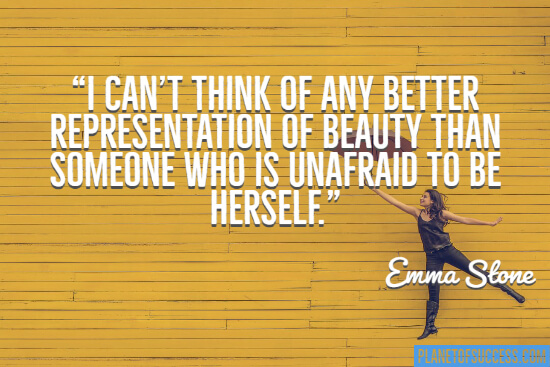 Can think of any better representation of beauty quote