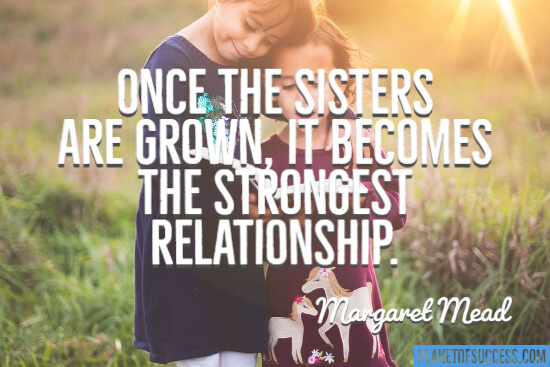 Once the sisters have grown quote