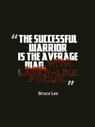 Successful warrior