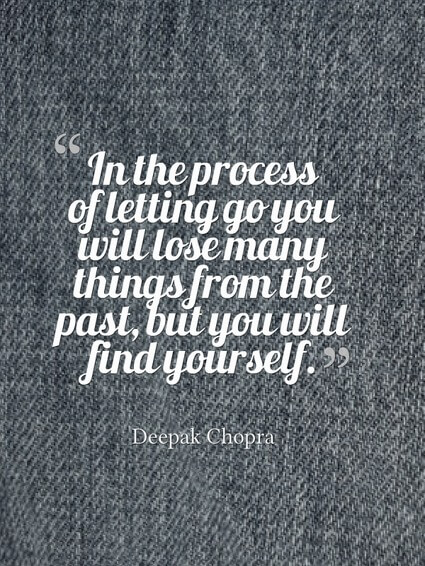 The process of letting go