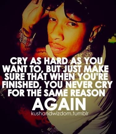 crying wiz khalifa quote - Wiz Khalifa Quotes