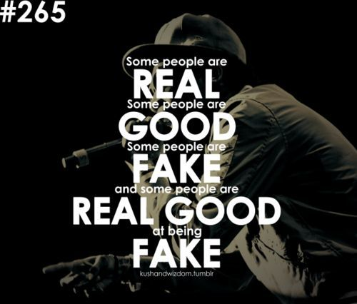 fake people – Wiz Khalifa quote