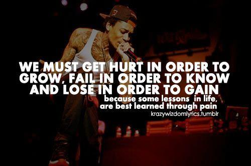 getting hurt – Wiz Khalifa