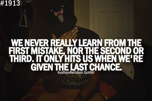 learning from mistakes – Wiz Khalifa