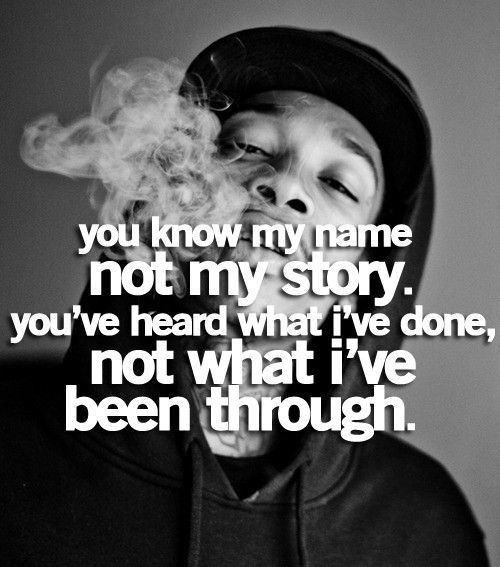 my story – Wiz Khalifa quote