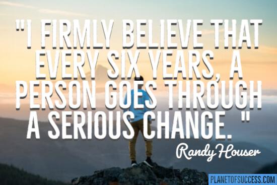 I firmly believe