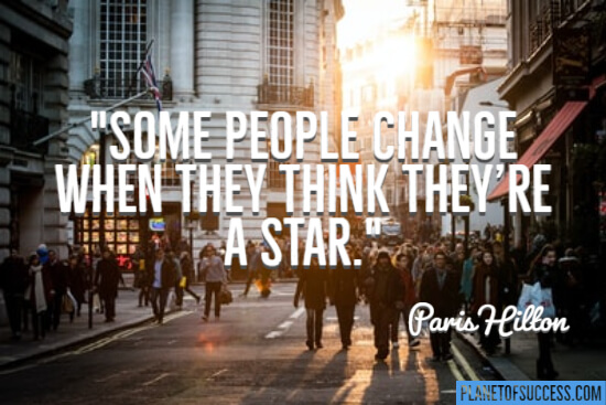 Some people change
