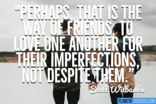 The way of friends quote about relationships