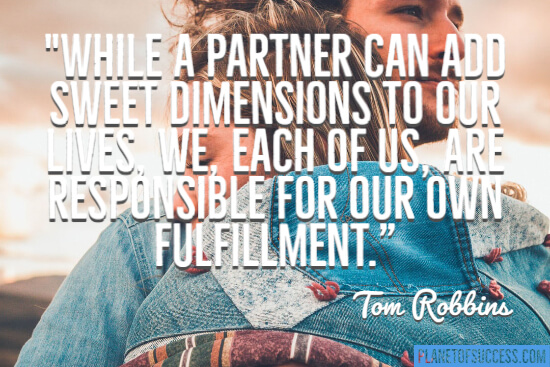 A partner can add a sweet dimension quote