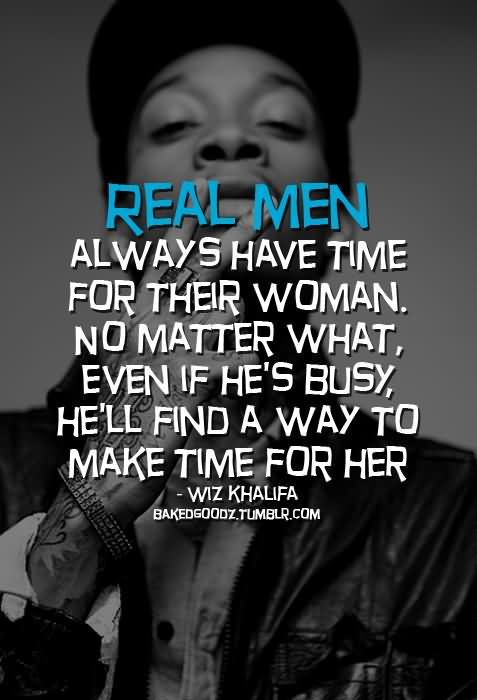 real men – Wiz Khalifa
