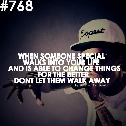 someone special Wiz Khalifa quotes