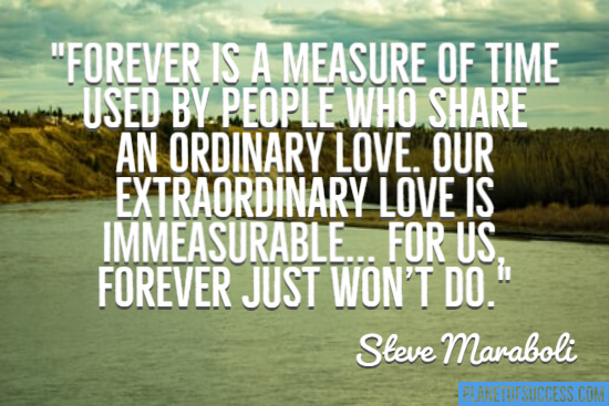 Forever is a measure of time