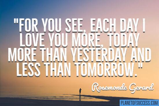 每天我爱你
