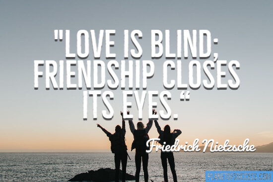 Love is blind quote