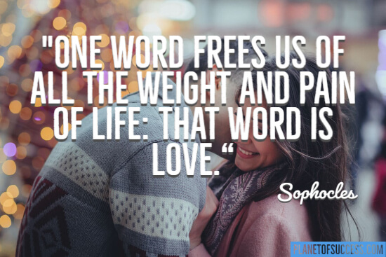 One word frees us
