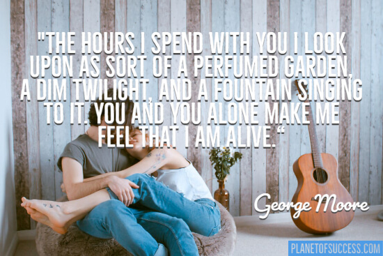 The hours I spend with you