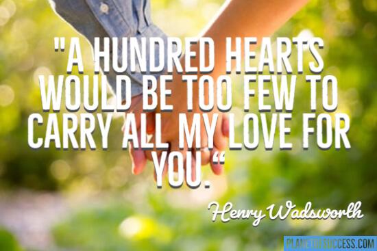 A hundred hearts