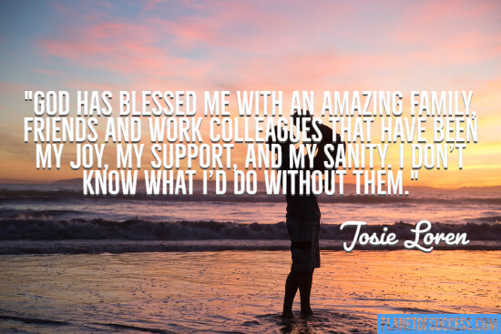 Life has blessed me quote