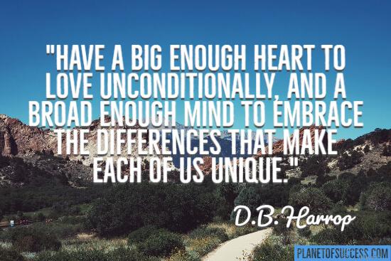 I have a big enough heart