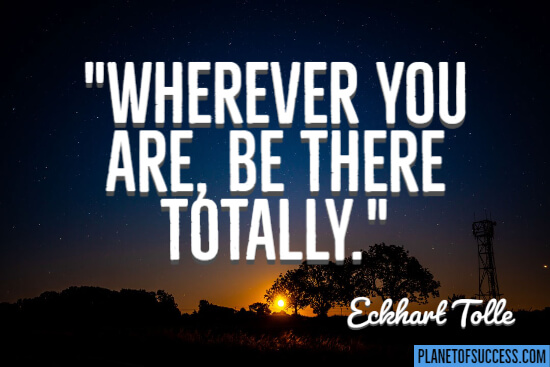 Wherever you are quote