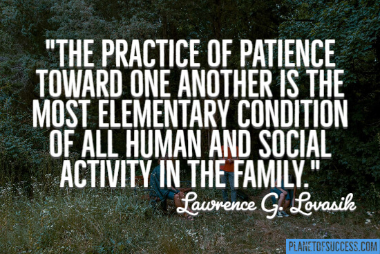 The practice of patience