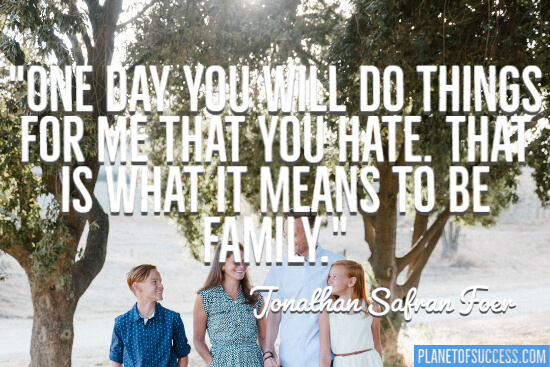 What it means to be family