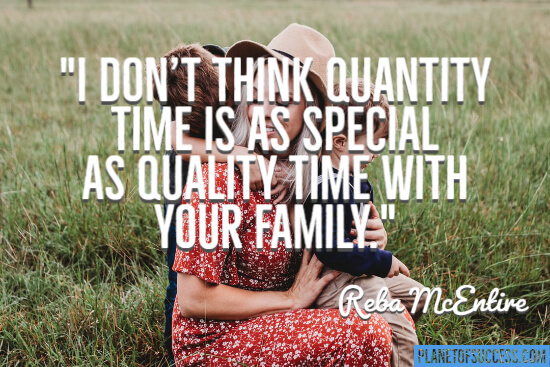 Time with your family