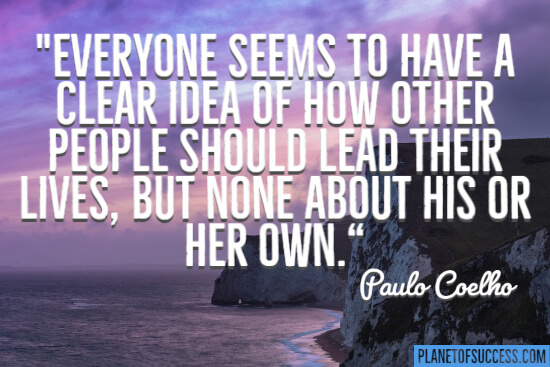 Inspirational quote by Paulo Coelho