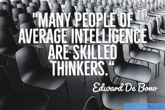 Many people of average intelligence