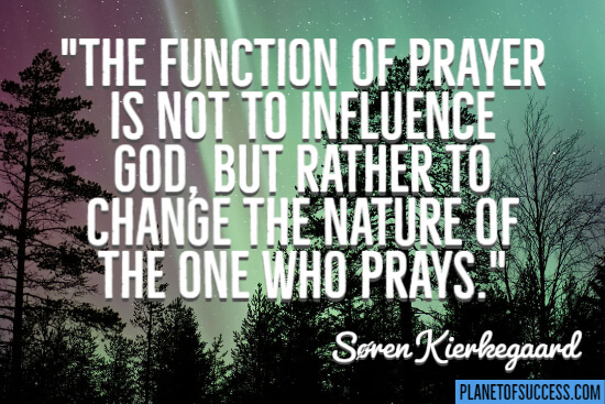 The function of prayer quote