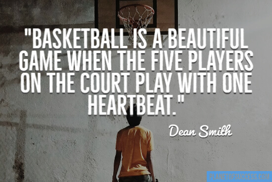 Basketball is a beautiful game quote