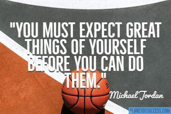 You must expect great things