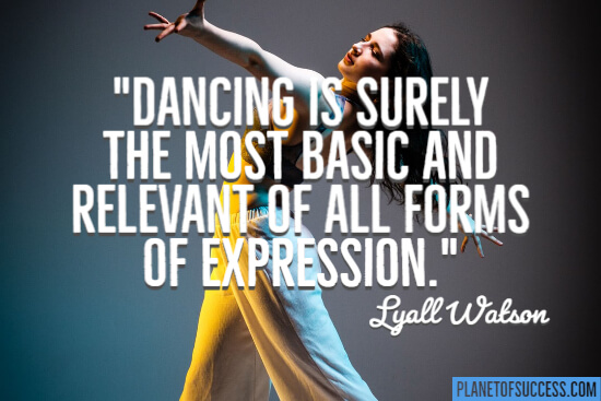 Quote about dancing