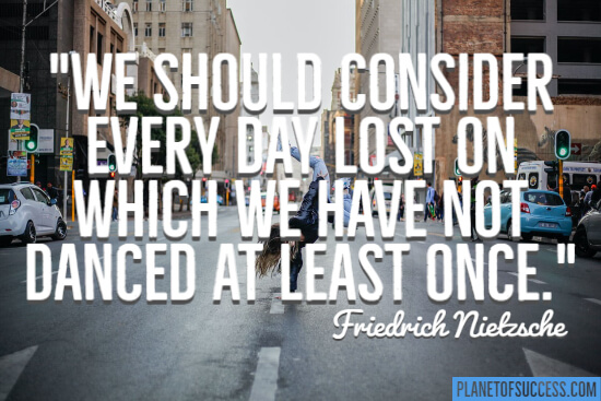 We should consider every day lost