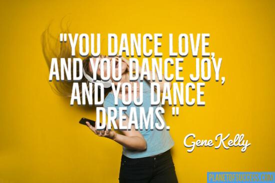 You dance love