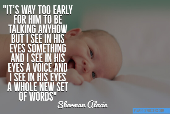 65 Inspiring And Cute Baby Quotes Planet Of Success
