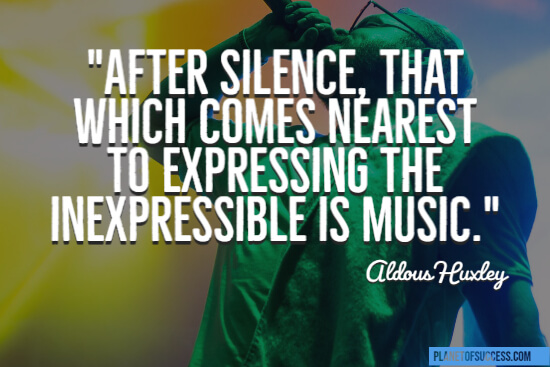 Music expresses the inexpressible quote