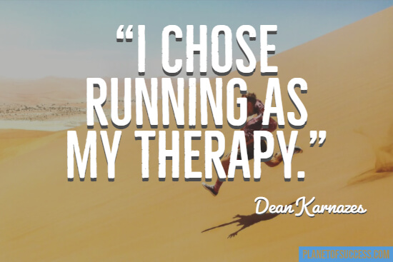 Running as my therapy quote