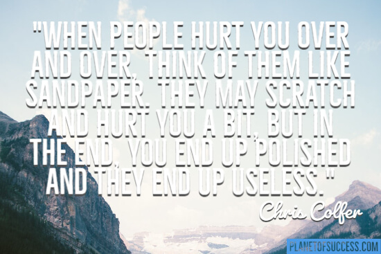 When people hurt you quote