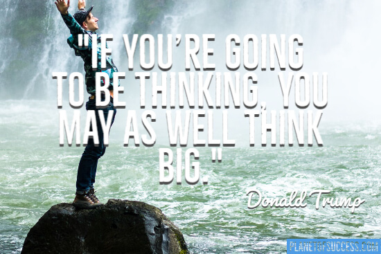 If you're going to be thinking quote