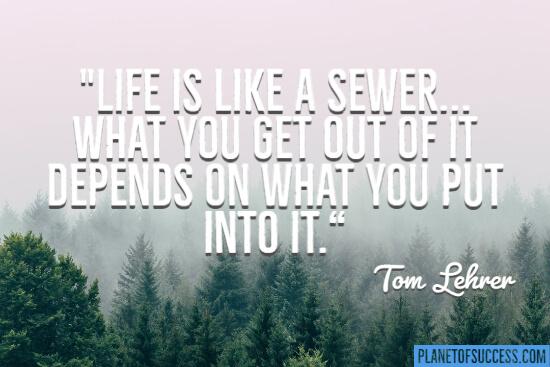 生活是个下水道