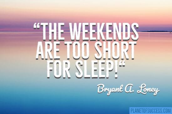 Too short for sleep