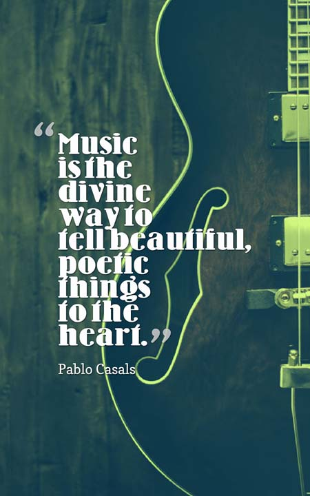 Quotes Music Unique The 101 Most Inspiring Quotes About Music  Planet Of Success