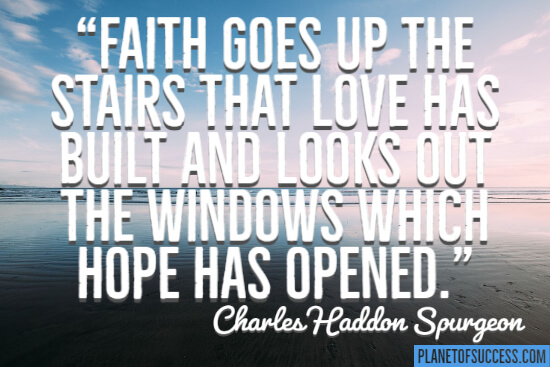 The windows which hope has opened quote