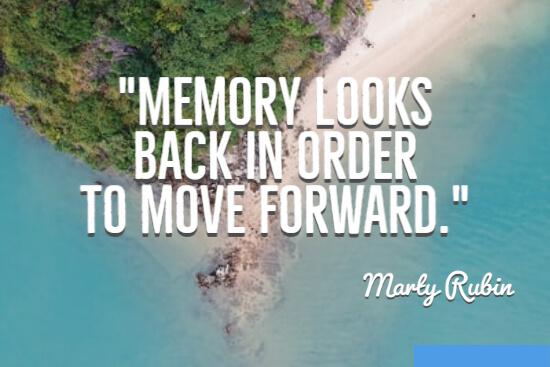 Memory looks back