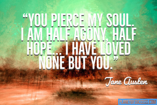 You pierce my soul quote
