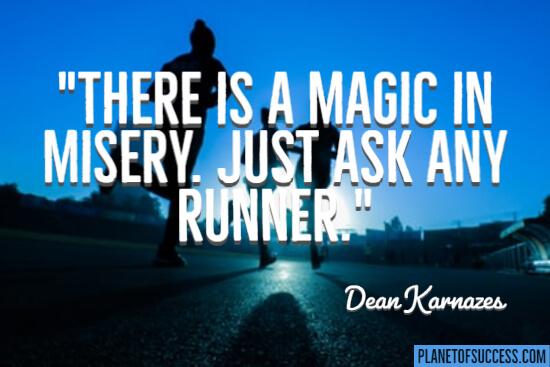 Ask any runner