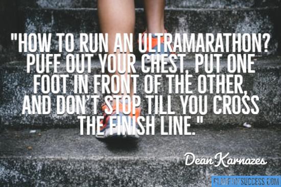 Run an ultra marathon