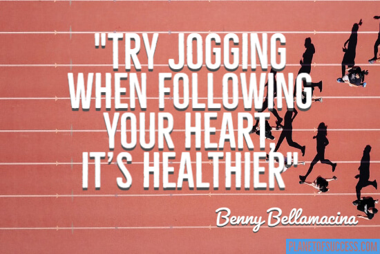 Try jogging